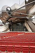 Jay Pritzker Pavilion at Millennium Park in Chicago USA