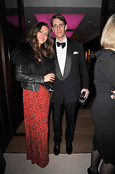 BEN ELLIOT and MARY-CLARE WINWOOD at a cocktail party and auction to launch the forthcoming celebrations for Mikhail Gorbachev's 80th birthday held at Christie's, 8 King Street, London on 3rd February 2011.