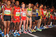 Elena Nurgalieva at the start during the 2 Oceans Ultra Marathon held in and around Cape Town and the Cape Peninsular on the 7th April 2012..Photo by Jurie Senekal/SPORTZPICS