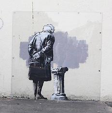 SEP 30 2014 The new Banksy Mural