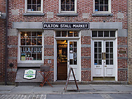 Fulton Stall Market at South Street Seaport.