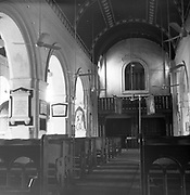 Ronald Lewcock. Church Interior.