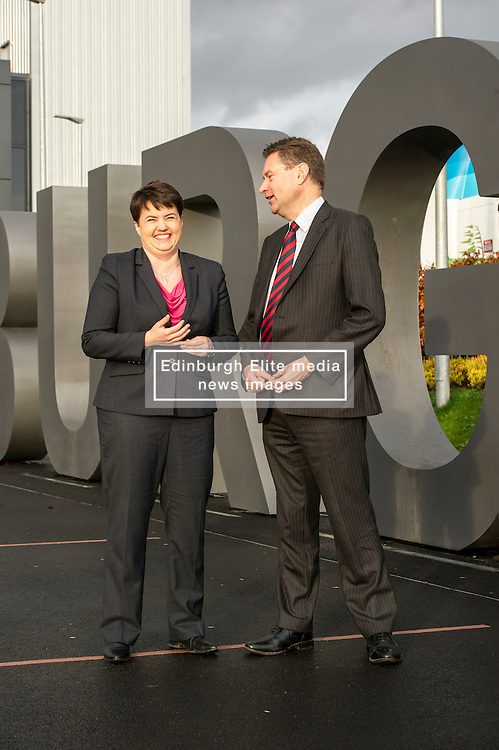 Pictured: Ruth Davidson and Murdo Fraser<br />