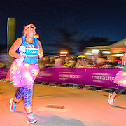 Action from the Supernova 5km race at the Bournemouth Marathon Festival, 1 October 2016. All Rights Reserved. Copyright Paul Roberts | RobertsSports Photo