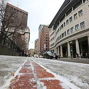 Snowy afternoon walk - Boston, MA.