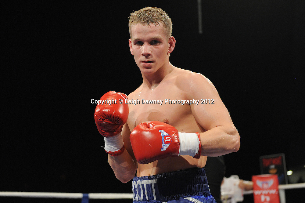 Scott Jenkins (pictured) defeats Kristian Laight in a Lightweight contest at the Velodrome, Manchester on the 16.06.12. Hatton Promotions. ©Leigh Dawney Photography 2012.