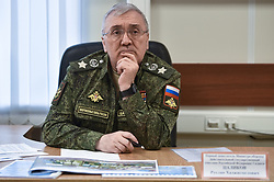 April 30, 2019 - Omsk, Tomsk region, Russia - Russian Deputy Minister of Defense Ruslan Tsalikov visited the training center of the Airborne Forces Omsk (Credit Image: © Russian Look via ZUMA Wire)