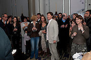GHINWA BHUTTO; MARYAM D'ABO; SABRINA GUINNESS; DANNY MOYNIHAN, Henry Porter hosts a launch for Songs of Blood and Sword by Fatima Bhutto. The Artesian at the Langham London. Portland Place. 15 April 2010. *** Local Caption *** -DO NOT ARCHIVE-© Copyright Photograph by Dafydd Jones. 248 Clapham Rd. London SW9 0PZ. Tel 0207 820 0771. www.dafjones.com.<br /> GHINWA BHUTTO; MARYAM D'ABO; SABRINA GUINNESS; DANNY MOYNIHAN, Henry Porter hosts a launch for Songs of Blood and Sword by Fatima Bhutto. The Artesian at the Langham London. Portland Place. 15 April 2010.