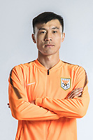 **EXCLUSIVE**Portrait of Chinese soccer player Zheng Zheng of Shandong Luneng Taishan F.C. for the 2018 Chinese Football Association Super League, in Ji'nan city, east China's Shandong province, 24 February 2018.