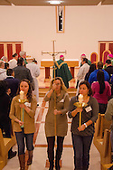 Jan. 25, 2014 Piscataway USA // Closing mass is held at St. John Neumann Pastoral Center during the New Jersey Catholic Young Adult Conference