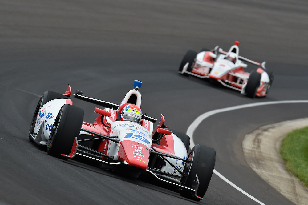 Justin Wilson, Indianapolis 500, Indianapolis Motor Speedway, Indianapolis, IN USA 5/25/2014