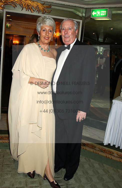 LORD HARRIS OF PECKHAM and his wife DAME PAULINE HARRIS at the Dyslexia Awards Dinner attended by HRH The Countess of Wessex held at The Dorchester Hotel, Park Lane, London on 9th November 2005.<br /><br />NON EXCLUSIVE - WORLD RIGHTS