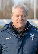 FODBOLD: Cheftræner Michael Sørensen ved Ølstykke FC's officielle fotosession den 4. april 2019 på Ølstykke Stadion. Foto: Claus Birch