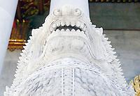 Lion guard Wat Benchamabophit Temple Bangkok Thailand&#xA;<br />