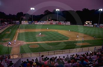 Harrisburg, PA, City Island MInor League Baseball Stadium, Harrisburg Senators' Game