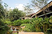 Gardens at Espa spa.