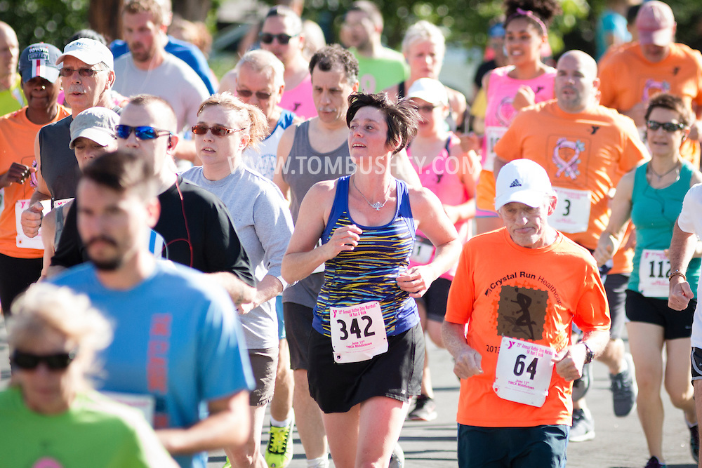 Middletown, New York - YMCA Ruthie Run on June 12, 2016.
