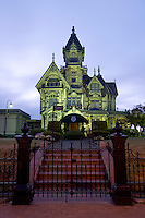 The Carson Mansion, Old Town Eureka, California
