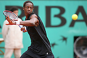 Roland Garros. Paris, France. May 30th 2006. .Monfils against Murray during the first tour of the tennis french open.