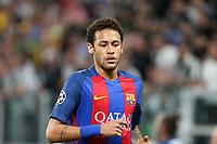 11.04.2017 - Torino  -  Quarti di finale  Champions League , Nella foto:  Neymar