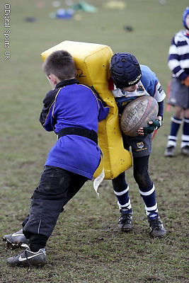 Saracens Masterclass at Hertford RFC. 19-2-09..Under 6,7s and U8s.