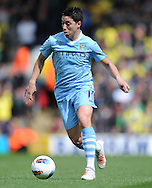 Picture by Andrew Timms/Focus Images Ltd. 07917 236526.14/04/12.Samir Nasri of Manchester City during the Barclays Premier League match against Norwich City at Carrow Road stadium, Norwich.