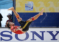 FIFA BEACH SOCCER WORLD CUP 2008 SPAIN - MEXICO   20.07.2008 AMARELLE (ESP) with a bicycle kick.