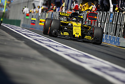 March 23, 2018 - Melbourne, Victoria, Australia - HULKENBERG Nico (ger), Renault Sport F1 Team RS18, action during 2018 Formula 1 championship at Melbourne, Australian Grand Prix, from March 22 To 25 - Photo  Motorsports: FIA Formula One World Championship 2018, Melbourne, Victoria : Motorsports: Formula 1 2018 Rolex  Australian Grand Prix, (Credit Image: © Hoch Zwei via ZUMA Wire)