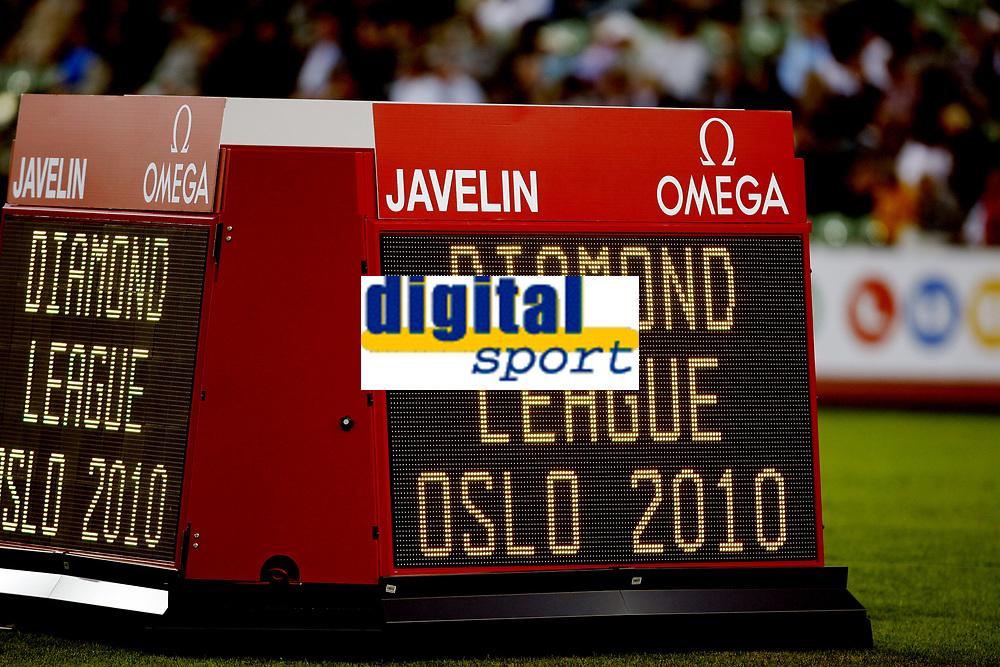 Friidrett, 4. juni 2010,  Diamond League , Bislett Games Oslo<br /> <br /> <br /> illustrasjon