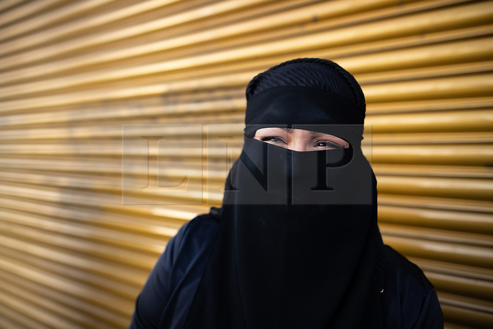 © Licensed to London News Pictures. 15/06/2018. Manchester, UK. FARHANA AHMED from Longsight . People celebrate Eid-ul-Fitr , the end of a month of fasting during Ramadan , in Rusholme in Manchester . Photo credit: Joel Goodman/LNP