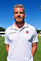 Jacques Salze - 07.08.2015 - Evian Thonon / Clermont - 2eme journee de Ligue 2<br /> Photo : Philippe Lebrech / Icon Sport