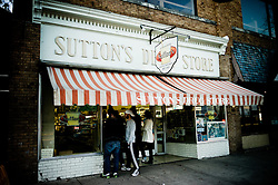 2011 February 12: Sutton's Drug Store on Franklin Street. Chapel Hill, NC