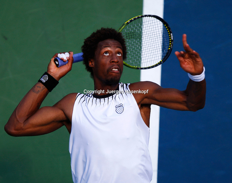 US Open 2010, USTA Billie Jean National Tennis.Center, NewYork,ITF Grand Slam Tennis Tournament . Gael Monfils (FRA)