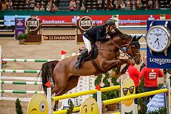 DEVOS Pieter (BEL), Just Me D<br /> Leipzig - Partner Pferd 2020<br /> Longines FEI Jumping World Cup™Qualifikations-Prüfung<br /> Springprfg. nach Fehlern und Zeit, international<br /> 17. Januar 2020<br /> © www.sportfotos-lafrentz.de/Stefan Lafrentz