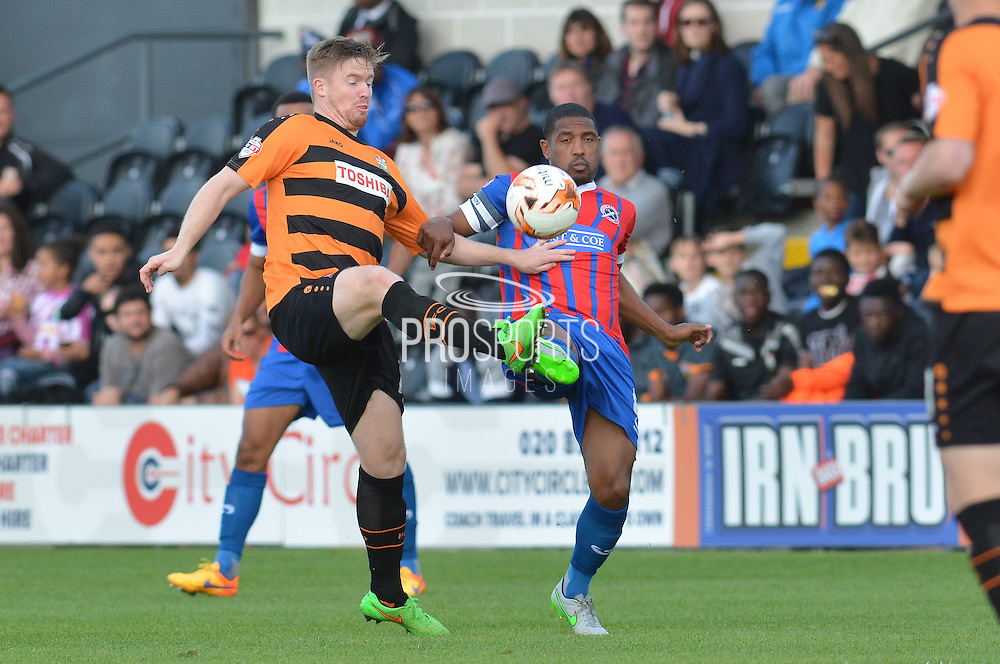 Michael Gash of Barnet during the Sky Bet League 2 match between Barnet and Dagenham and Redbridge at Hive Stadium, London, England on 26 September 2015. Photo by Ian Lyall.