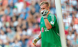 21.07.2015, Red Bull Arena, Salzburg, AUT, Testspiel, FC Red Bull Salzburg vs Bayer 04 Leverkusen, im Bild Bernd Leno (Bayer 04 Leverkusen) // during the International Friendly Football Match between FC Red Bull Salzburg and Bayer 04 Leverkusen at the Red Bull Arena in Salzburg, Austria on 2015/07/21. EXPA Pictures © 2015, PhotoCredit: EXPA/ JFK