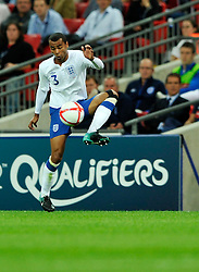 04.09.2010, Wembley Stadium, London, ENG, UEFA Euro 2012 Qualification, England v Bulgaria, im Bild Ashley Cole of England  controls the ball infront of England manager Fabio Capello. EXPA Pictures © 2010, PhotoCredit: EXPA/ IPS/ Sean Ryan +++++ ATTENTION - OUT OF ENGLAND/UK +++++ / SPORTIDA PHOTO AGENCY