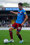 Alex Gilliead of Scunthorpe United during the EFL Sky Bet League 2 match between Scunthorpe United and Carlisle United at Sands Venue Stadium, Scunthorpe, England on 31 August 2019.