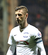 Paul Gallagher during the Sky Bet Championship match between Preston North End and Bolton Wanderers at Deepdale, Preston, England on 31 October 2015. Photo by Pete Burns.