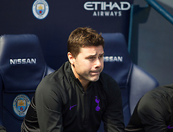 Tottenham Hotspur manager Mauricio Pochettino - Mandatory by-line: Jack Phillips/JMP - 20/04/2019 - FOOTBALL - Etihad Stadium - Manchester, England - Manchester City v Tottenham Hotspur - English Premier League