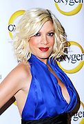 Tori Spelling attends the Oxygen Upfronts at Gotham Hall in New York City on April 4, 2011.