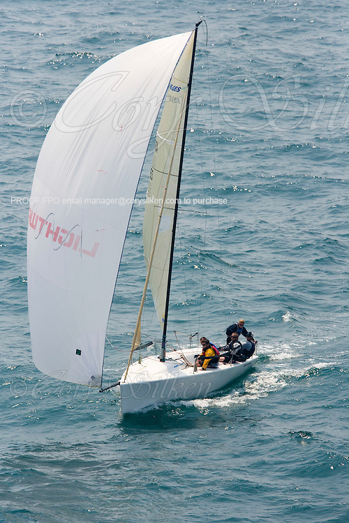 Lightwave, Melges 24 513, at The Newport Regatta