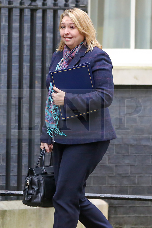 © Licensed to London News Pictures. 05/02/2019, London, UK. Karen Bradley - Secretary of State for Northern Ireland arrives in Downing Street for the weekly Cabinet meeting. Photo credit: Dinendra Haria/LNP