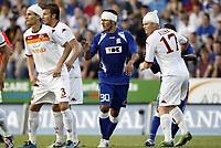 Fotball<br /> Kvalifisering Europe League<br /> 06.08.2009<br /> Gent v Roma<br /> Foto: Photonews/Digitalsport<br /> NORWAY ONLY<br /> <br /> ANDREOLLI - LJUBIJANKIC ZLATAN - JOHN ARNE RIISE