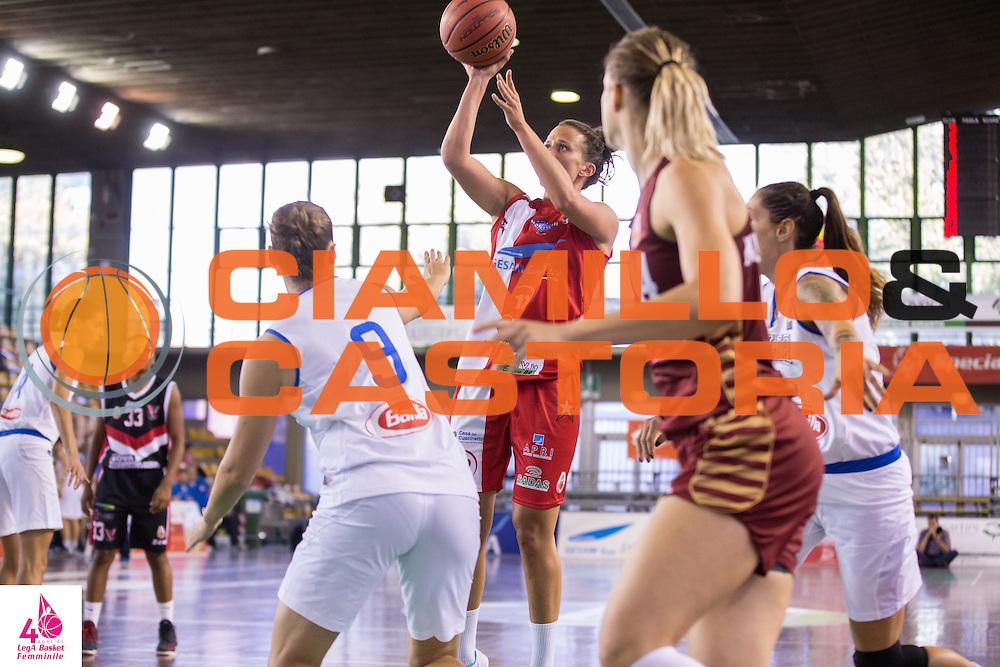 Jillian Harmon <br /> Gesam Gas Lucca Meccanica Novo Vigarano<br /> LegA Basket Femminile 2016/2017<br /> Lucca, 01/10/2016<br /> Foto Elio Castoria/Ciamillo-Castoria