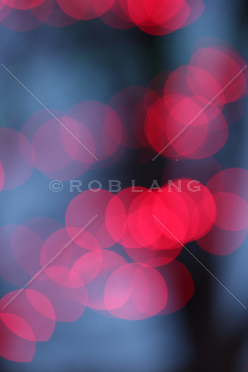 abstract of Christmas lights