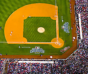 Aerial view of Citizens Bank Park, Game 4 World Series, Philadelphia, PA vs Tampa Bay Rays