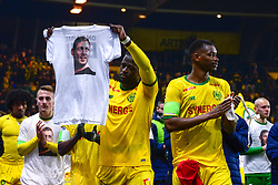 January 31, 2019 - Nantes, France - Ambiance - Hommage a Emiliano Sala - KOLO MUANI Randal  (Credit Image: © Panoramic via ZUMA Press)