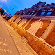 Former Heim Brewery in the East Bottoms area of Kansas City, MIssouri at 507 Montgall. It is planned to be renovated and converted into a whiskey distillery by Ryan Maybee and Andy Rieger, to resurrect the old J Rieger and Company Whiskey Distributorship.
