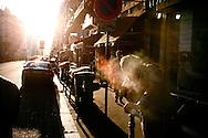 Rue La Fayette smoke, Paris